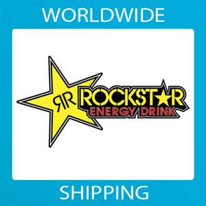 Rockstar Energy Drink sticker decal vinyl car bike