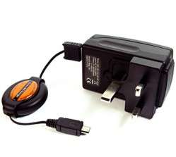 WORLDWIDE BATTERY TRAVEL CHARGER KIT FOR HTC DESIRE