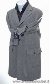 FAY DOUBLE COAT CAPPOTTO UOMO 30340 TG L SALDI
