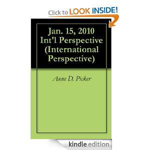Jan. 15, 2010 Intl Perspective (International Perspective): Anne D