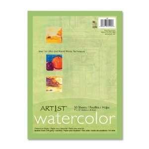 Watercolor Paper, 90lb., 9 quot;x11 quot;, 50SH/PK, White