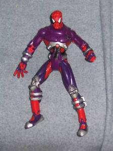 SPIDERMAN SPIDER MAN MARVEL FIGURE PURPLE RED VENOM