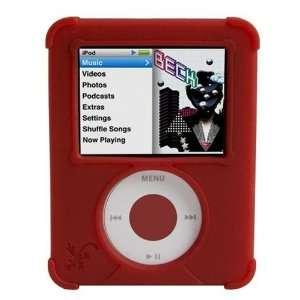 ifrogz Wrapz for iPod nano 3G (Ruby Red)  Players