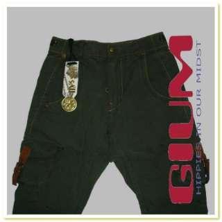 pantaloni donna jeans MISS SIXTY BRENDA mod. cargo cavallo basso verde