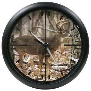 La Crosse Technology 10 Inch Wildlife Scope Clock with