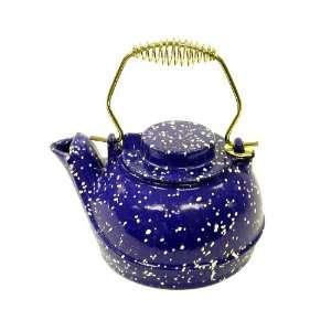 Landmann USA 2.5 Qt Blue Porcelain Enamel Kettle 1606