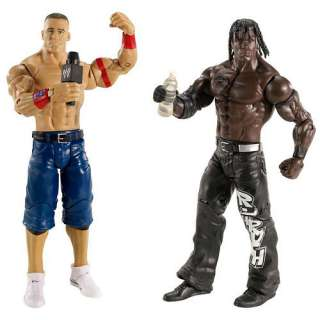 WWE Battle Pack Action Figure 2 Pack   John Cena vs. R Truth   Mattel