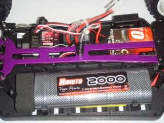 EMXT 1 CON RADIO 2.4GHZ MONSTER ELETTRICO CON MOTORE RC 540 HIMOTO 1