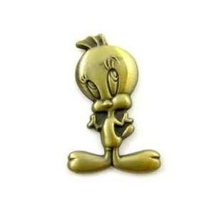 Looney Tunes Tweety Pin  Brass Lapel Pin Everything Else