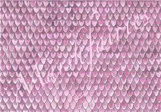 Marshfairies Dolls House Wallpaper Pink Roof Tiles