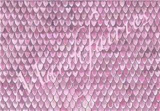 Marshfairies Dolls House Wallpaper Pink Roof Tiles