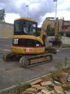 Escavatore caterpillar 304 cr, 50 q.li a Montevarchi    Annunci