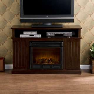 Wildon Home Bismark 50 TV Stand with Electric Fireplace   DTO2140F