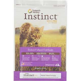 Home Cat Food Natures Variety Instinct Grain Free Rabbit Meal Formula