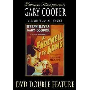 Meet John Doe/A Farewell to Arms Gary Cooper, Helen Hayes