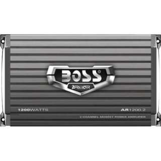 BOSS AUDIO 2 Channel 1200 Watt Armor MOSFET Power Amplifier AR1200.2