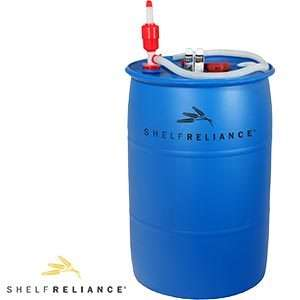 Reliance BPA Free 55 gallon Barrel Water Storage System Emergency Food