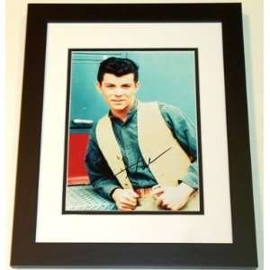 Frankie Avalon Autographed/Hand Signed 8x10 Photo BLACK