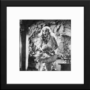 Ingrid Pitt Custom Framed And Matted B&W Photo (Countess Dracula