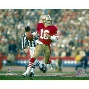 Joe Montana San Francisco 49ers ing Down Field 8x10 Photo