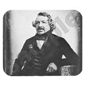 Louis Daguerre Mouse Pad: Office Products