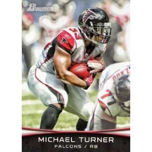 2012 Bowman Football #58 Michael Turner: Sports Collectibles