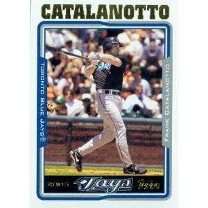 2005 Topps Baseball Card # 97 Frank Catalanotto Toronto