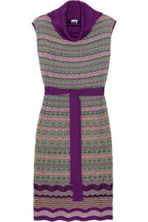 Missoni Open knit wool blend turtleneck dress   65% Off Now at THE