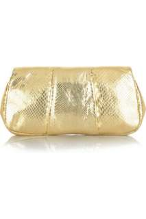 Anya Hindmarch Piano python clutch   80% Off Now at THE OUTNET