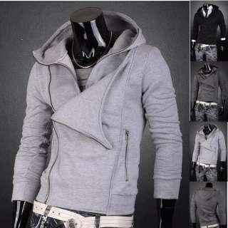 Designer Hoodies Zip Slim Fit Jacket Tops Coats Shirts S M L XL 8005 T