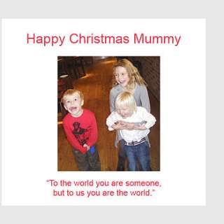 personalised mum christmas card by amanda hancocks
