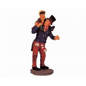 Collection Bob Cratchit & Tiny Tim Figurine #02403: Home & Kitchen