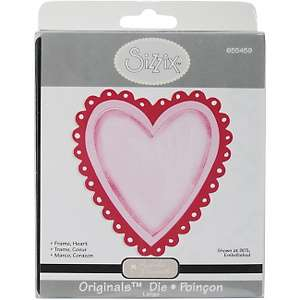 Sizzix Originals Die   Large Heart Frame with Opening
