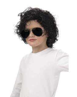 1980s / Michael Jackson Curly Child Wig