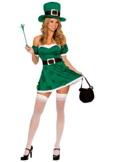 Holiday Costumes St. Patricks Day Costumes Sexy Leprechaun Costume