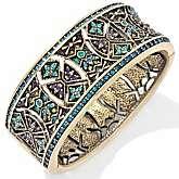 Heidi Daus Byzantine Beauty Crystal Bangle Bracelet Reviews