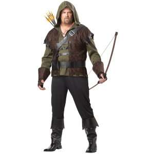 Robin Hood Adult Plus Costume, 800195