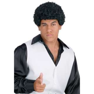 Halloween Costumes Jheri Curl Black Wig