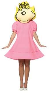 Peanuts Sally Adult Costume   Adult Costumes