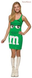 Green Tank Dress Teen Costume