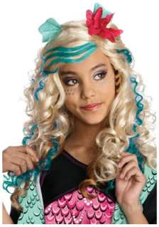 Monster High Lagoona Blue Costume Wig for Halloween   Pure Costumes