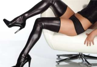 Wet  Thigh High Stockings (Accessories)