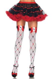 Card Suit Thigh High Stockings for Halloween   Pure Costumes