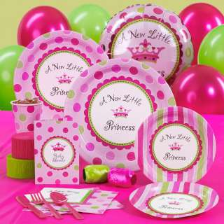 New Little Princess Baby Shower Standard Party Pack     1671320