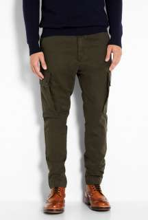 Dockers  Dark Olive Tapered Cargo Pants by Dockers