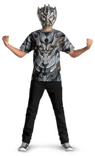 Moon Movie   Megatron T Shirt And Mask Adult Costume Set     16800277