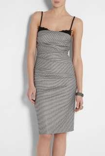 Moschino Cheap & Chic  Dolce Vita Microcheck Dress by Moschino Cheap