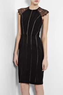 Catherine Deane  Larue Lace Shoulder Dress by Catherine Deane