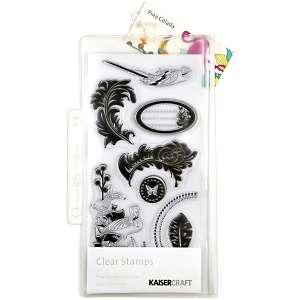 Kaisercraft Pina Colada Clear Stamps 8 1/4 Sheet