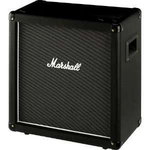 MHZ112 1x12 Guitar Speaker Cabinet Black Straight Musical Instruments